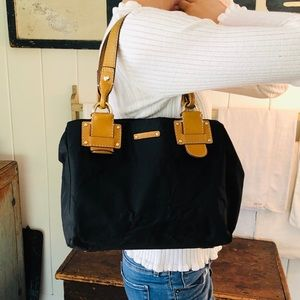 ♥️ Kate Spade ♥️ Black Nylon Shoulder Bag